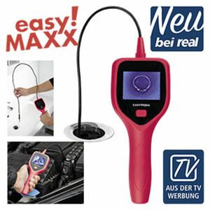 Endoskopkamera 4 x AA Batterien erforderlich (nicht enthalten), Kabellänge 120cm, Monitor H 3,5 cm x L 5 cm - LCD Monitor