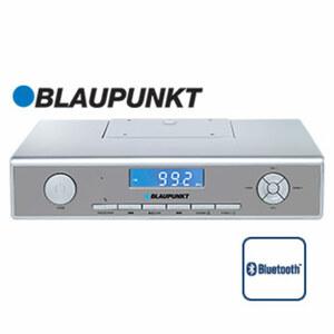 Bluetooth®-Küchenradio KRB 20 • UKW-PLL-Tuner, Freisprechfunktion • 2 Kurzzeitwecker für Koch- und Backvorgänge • Maße: H 6 x B 26,2 x T 14,5 cm • Unterbaufähiges Küchenradio mit integ