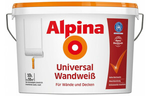 Alpina Universal Wandweiß 10 Liter