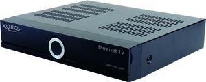 XORO HDTV Receiver HRT8772 HDD, DVB-T MPEG4, DVB-T2, 2TB Festplatte, EPG, Ethernet, Farbe: Schwarz