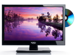 XORO HD LED TV 40cm (16 Zoll) HTC1546, Triple Tuner, Farbe: Schwarz
