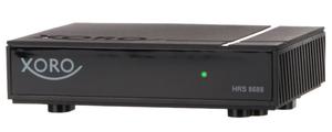XORO Mini-Receiver HRS8688, PVR-Funktion, DVB-S, DVB-S2, Farbe: Schwarz