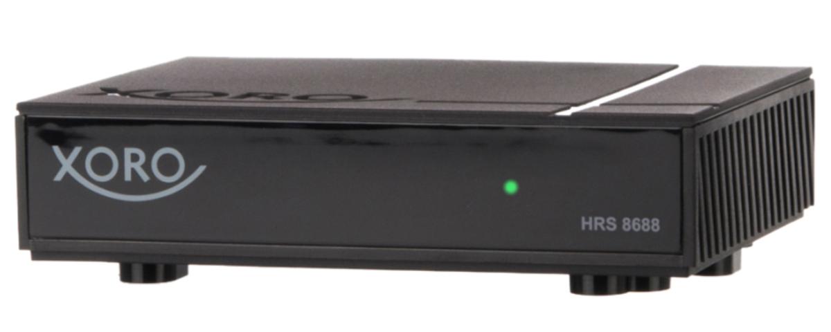 Bild 1 von XORO Mini-Receiver HRS8688, PVR-Funktion, DVB-S, DVB-S2, Farbe: Schwarz