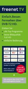 XORO Twin FHD DVB-T2 Receiver HRT8770, Farbe: Schwarz