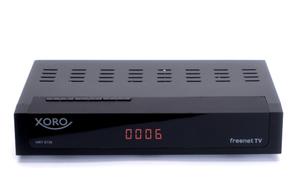 XORO DVB-T2 Receiver HRT8730, HEVC/H.265, Farbe: Schwarz
