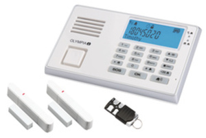 OLYMPIA Protect 9035 - Haussicherungssystem - kabellos - Mobil - 868 MHz