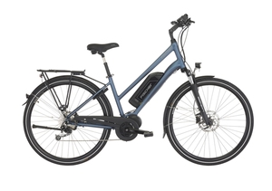 Fischer Trekking-Damen-E-Bike ETD 1820, 28 Zoll, saphirblau matt