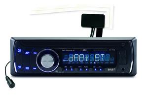 Caliber Autoradio USB/SD - DAB+/BT 1 DIN RMD234DAB-BT