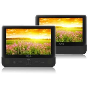 XORO Monitorset mit DVD-Player 22,86cm (9 Zoll) HSD9912 , MP3-Wiedergabe, USB, Farbe: Schwarz