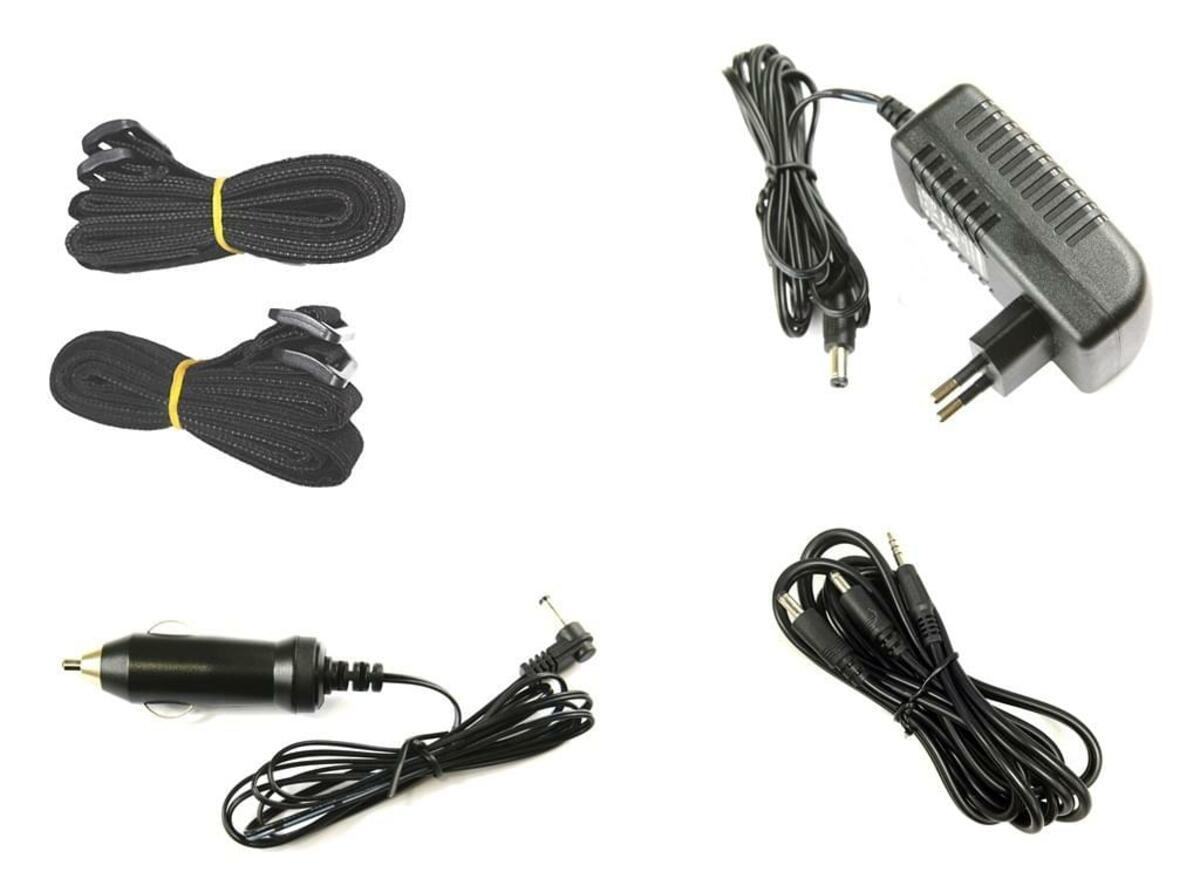 Bild 2 von XORO Monitorset mit DVD-Player 22,86cm (9 Zoll) HSD9912 , MP3-Wiedergabe, USB, Farbe: Schwarz