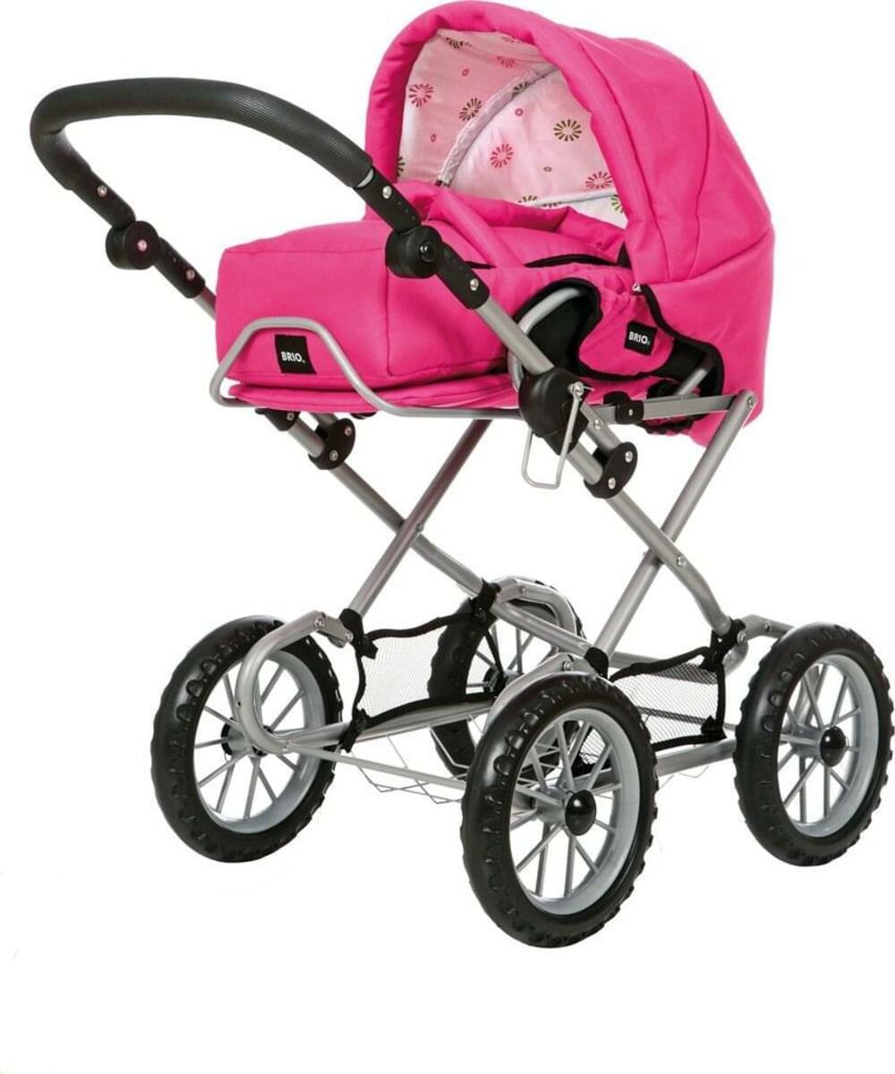 Bild 2 von BRIO Puppenwagen Combi, Puppen Wagen, Buggy, Kinderwagen, Kombiwagen, Fuchsia, 24891309