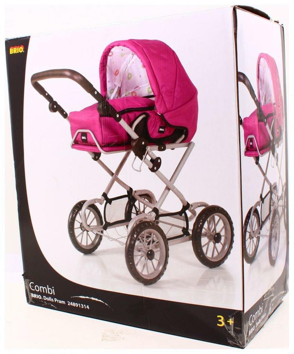 Bild 2 von BRIO Puppenwagen Combi, Puppen Wagen, Buggy, Kinderwagen, Kombiwagen, Rose, 24891314