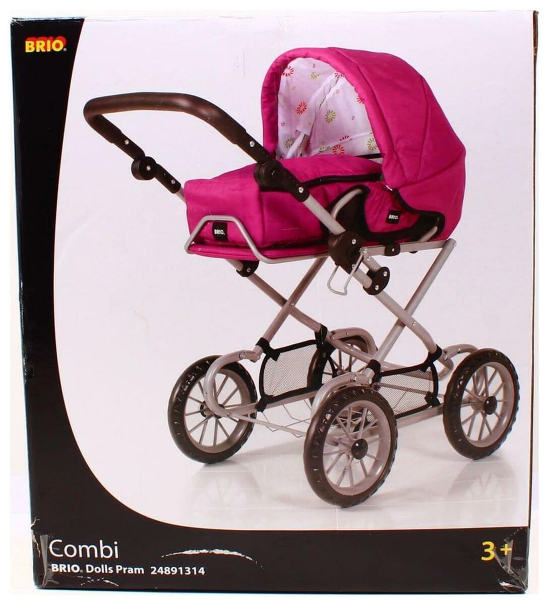 Bild 3 von BRIO Puppenwagen Combi, Puppen Wagen, Buggy, Kinderwagen, Kombiwagen, Rose, 24891314