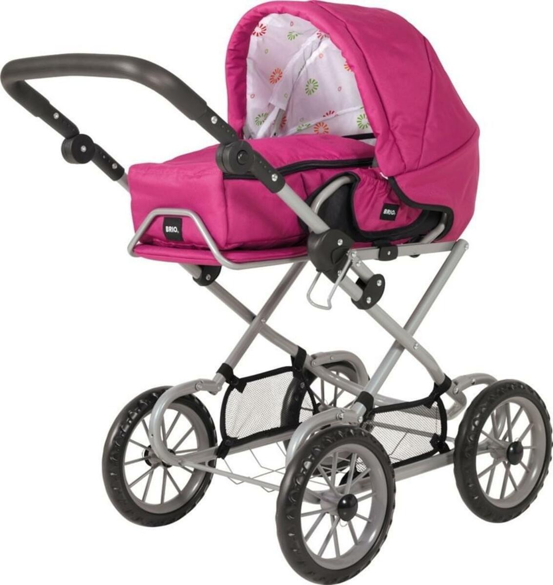 Bild 4 von BRIO Puppenwagen Combi, Puppen Wagen, Buggy, Kinderwagen, Kombiwagen, Rose, 24891314