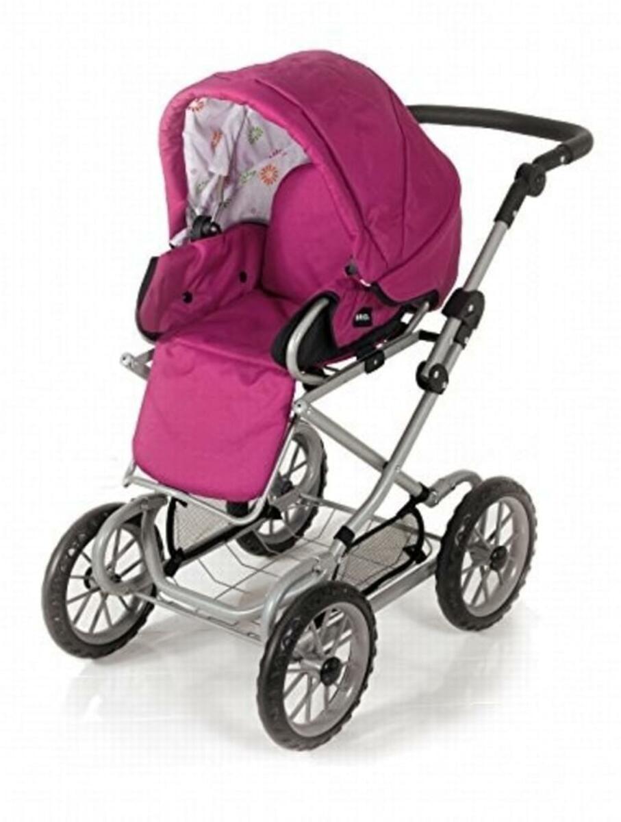 Bild 5 von BRIO Puppenwagen Combi, Puppen Wagen, Buggy, Kinderwagen, Kombiwagen, Rose, 24891314