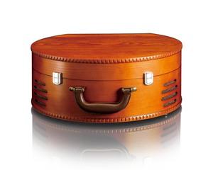 Lenco Plattenspieler TT-34 im Holzgehäuse mit USB-Anschluß