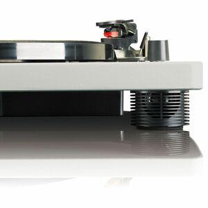 Lenco Plattenspieler LS-50GY, integrierter Lautsprecher, Farbe: Grau