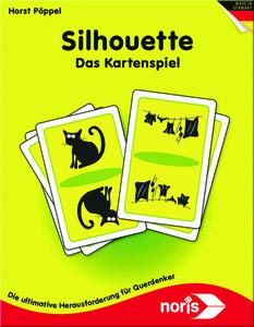 Noris Spiele Silhouette - Kartenspiel; 606121477