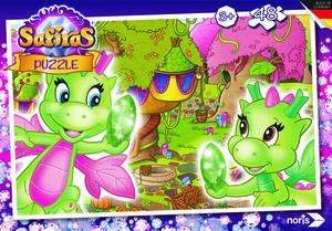 Noris Spiele Safiras - Erddrachen Puzzle 48tlg.; 606031541