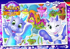 Noris Spiele Safiras - Luftdrachen Puzzle 48tlg.; 606031529