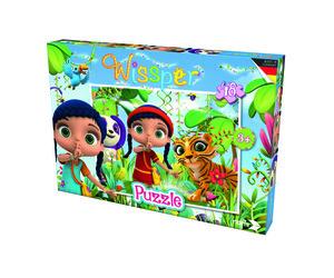Noris Spiele Wissper - Puzzle 48tlg.In der Waldwelt; 606031588