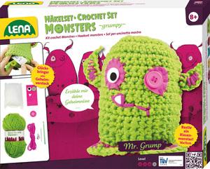 Häkelset Monsters grumpy