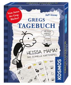 Kosmos Kartenspiel Gregs Tagebuch - Heissa Mama! 741624