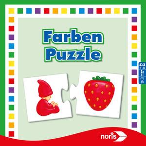 Noris Spiele Farben- Puzzle; 608985664