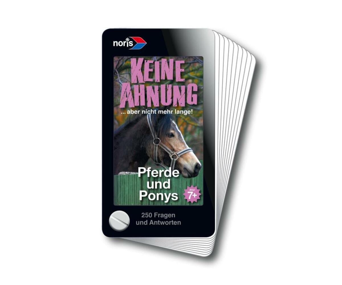 Bild 3 von Noris Spiele Wissensfächer 7-12 Jahre Pferde; 606011152