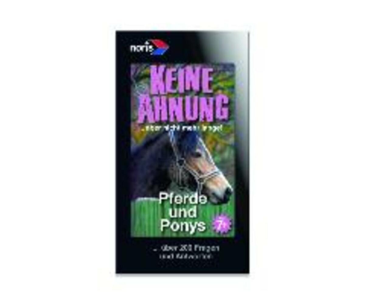 Bild 4 von Noris Spiele Wissensfächer 7-12 Jahre Pferde; 606011152