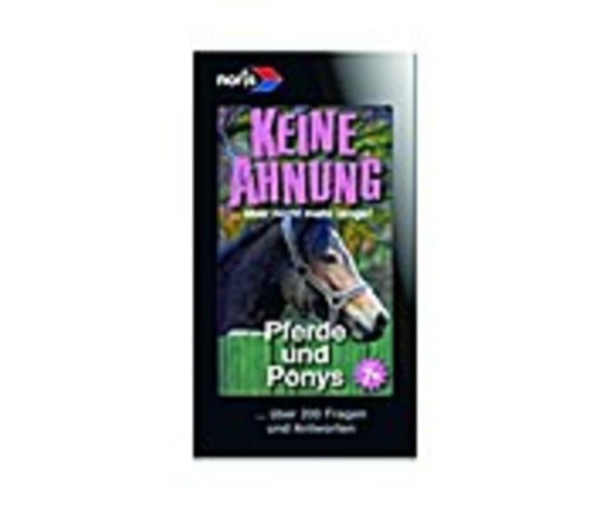 Bild 5 von Noris Spiele Wissensfächer 7-12 Jahre Pferde; 606011152
