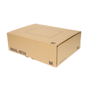Versandkarton Größe M 33 x 24 x 10 cm in Braun