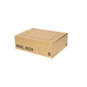 Versandkarton Größe S 25 x 17 x 8 cm in Braun