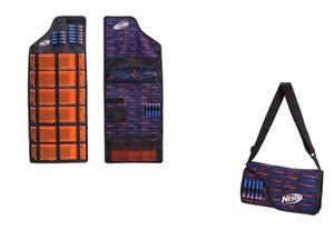 Jazwares 11502 - Nerf - Elite Dart und Magazin Transport-Tasche