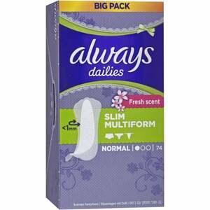 Always Slim Multiform Fresh scent Slipeinlagen
