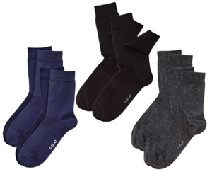 ONE WORLD®   2 Paar Socken mit Fairtrade-Baumwolle