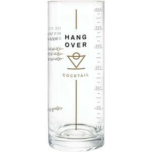 Donkey Products Longdrink Glas mit Rezept Hangover Cocktail farblos