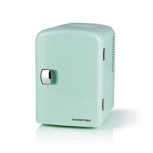 GOURMETmaxx Mini-Kühlschrank Retro - Zum Warm- & Kühlhalten - Mint