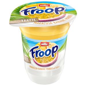 Müller Froop Fruchtsafari Maracuja-Banane-Mango 150g