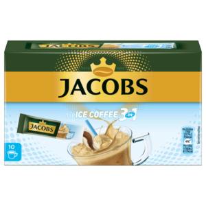 Jacobs Ice Coffee 3in1 180g, 10 Stück