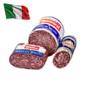 Negroni und MontorsiOriginal Italienische Salami