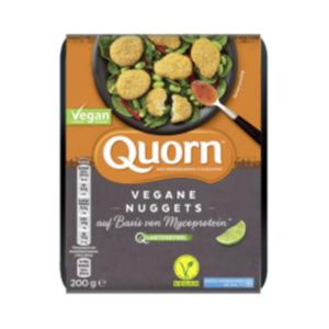 Quorn Vegane Filets, Pfeffer Grill Steak, Rostbratwürsten, Chicken Style Burger