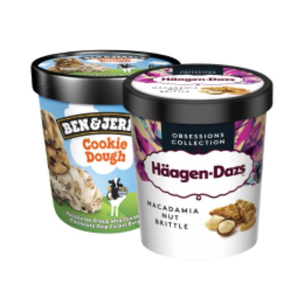 Häagen-Dazs Eis, Ben & Jerry's Ice Cream
