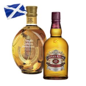 Chivas Regal 12 Jahre oder Dimple Golden Selection Scotch Whisky
