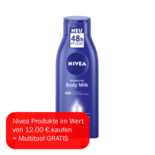 Nivea Body Milk/ Lotion oder IN-Dusch