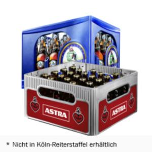 Astra oder Mönchshof Original, Bayrisch Hell, Keller-, Landbier