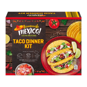 BIENVENIDO MEXICO     Taco Dinner Kit