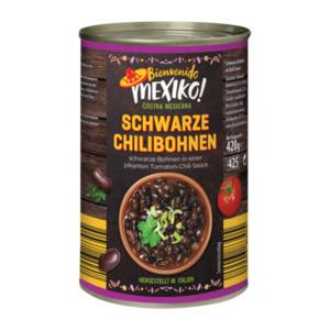 BIENVENIDO MEXICO     Schwarze Chilibohnen