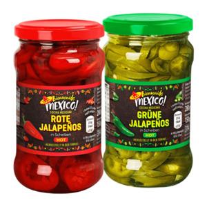 BIENVENIDO MEXICO     Jalapeños