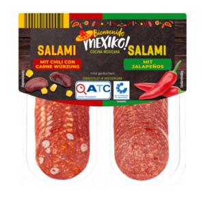 BIENVENIDO MEXICO     Salami